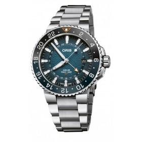 Мъжки часовник Oris Whale Shark Limited Edition - 798 7754 4175 - Set