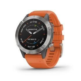 GPS мултиспорт часовник Garmin Fenix 6 Sapphire - 010-02158-14