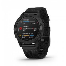 GPS мултиспорт часовник Garmin Fenix 6 Sapphire - 010-02158-17