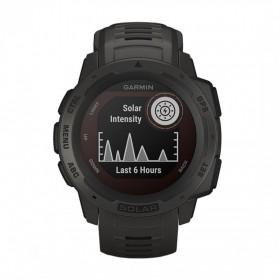 GPS мултиспорт часовник Garmin INSTINCT SOLAR Graphite - 010-02293-00