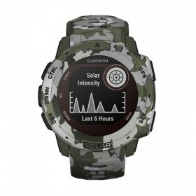 GPS мултиспорт часовник Garmin INSTINCT SOLAR Lichen Camo - 010-02293-06