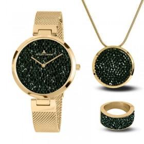 Дамски часовник Jacques Lemans - 1-2035L SET