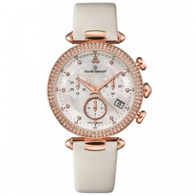 Дамски часовник Claude Bernard Dress Code Lady Chrono - 10230 37R NAR