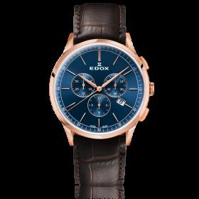 Мъжки часовник Edox Les Vauberts - 10236 37RC BUIR