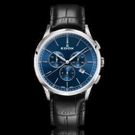 Мъжки часовник Edox Les Vauberts - 10236 3C BUIN