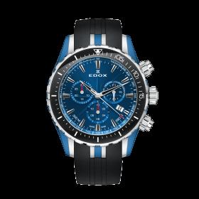 Мъжки часовник Edox Grand Ocean Chrono - 10248 357BU BUIN
