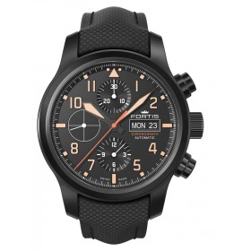 Мъжки часовник FORTIS Aviatis Aeromaster Stealth - 656.18.18 LP