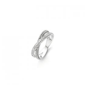 Дамски пръстен Ti Sento Milano - 12020ZI/56
