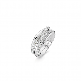 Дамски пръстен Ti Sento Milano - 12056ZI/52