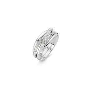 Дамски пръстен Ti Sento Milano - 12056ZI/54