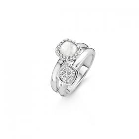 Дамски пръстен Ti Sento Milano - 12062MW/56