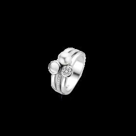Дамски пръстен Ti Sento Milano - 12137PW/56