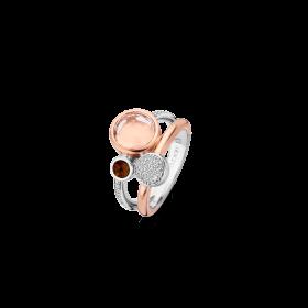 Дамски пръстен Ti Sento Milano - 12138TP/56