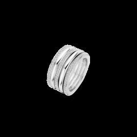 Дамски пръстен Ti Sento Milano - 12145ZI/58