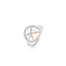Дамски пръстен Ti Sento Milano - 12155ZR/52