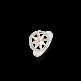 Дамски пръстен Ti Sento Milano - 12155ZR/54
