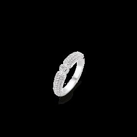Дамски пръстен Ti Sento Milano - 12166ZI/56