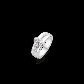 Дамски пръстен Ti Sento Milano - 12169ZI/56