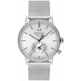 Мъжки часовник Bruno Söhnle Stuttgart GMT - 17-13180-240