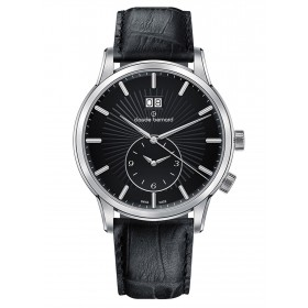 Мъжки часовник Claude Bernard Classic 2ND Time zone - 62007 3 NIN