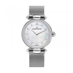 Дамски часовник Claude Bernard Dress Code - 20509 3M NAN