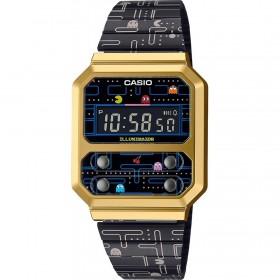 Унисекс часовник Casio VINTAGE PAC-MAN LIMITED EDITION - A100WEPC-1BER