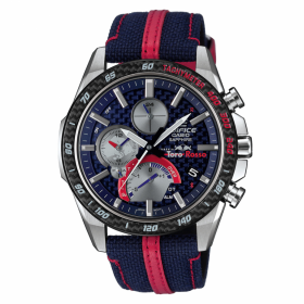 Мъжки часовник Casio Edifice Solar Bluetooth Scuderia Toro Rosso Limited Edition - EQB-1000TR-2AER