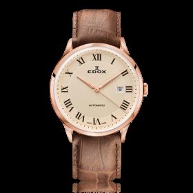 Мъжки часовник Edox Les Vauberts - 80106 37RC BER