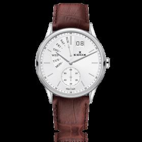Мъжки часовник Edox Les Vauberts Retrograde - 34500 3 AIN