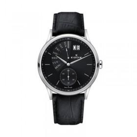 Мъжки часовник Edox Les Vauberts Retrograde - 34500 3 NIN