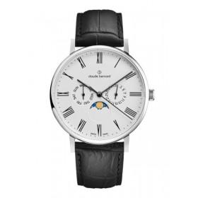 Мъжки часовник Claude Bernard Slim Line Moon Phase - 40004 3 BR