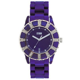 Дамски часовник Storm London Vestine Crystal Purple - 47028P