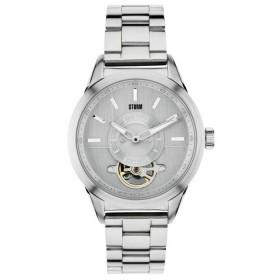 Мъжки часовник Storm London Aton Silver - 47176S