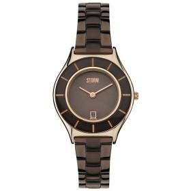 Дамски часовник Storm London Slimrim Brown - 47199BR