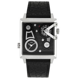Мъжки часовник Storm London Dual Square Black - 47201BK