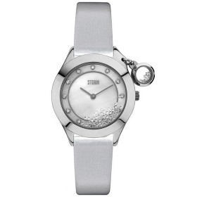 Дамски часовник Storm London Sparkelli Leather Silver - 47223S