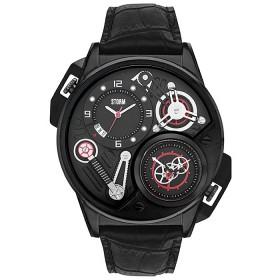 Мъжки часовник Storm London Dualtron Leather Slate - 47239SL