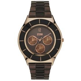 Дамски часовник Storm London Multi Slim Brown - 47240BR