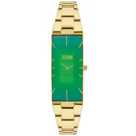 Дамски часовник Storm London Ixia Gold Green - 47255GN