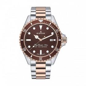 Мъжки часовник Edox Sky Diver - 53017 357RBRM BRI