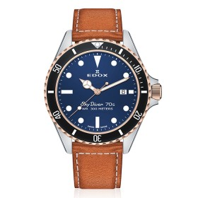 Мъжки часовник Edox SkyDiver - 53017 357RNC BUI