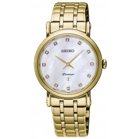 Дамски часовник Seiko Premier Classic - SXB434P1