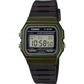 Мъжки часовник Casio Collection - F-91WM-3AEF