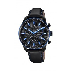 Мъжки часовник Candino C-Sport Black Edition Chronograph - C4683/2