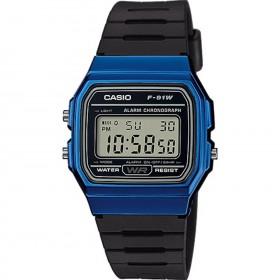 Мъжки часовник Casio Collection - F-91WM-2AEF