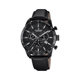 Мъжки часовник Candino C-Sport Black Edition Chronograph - C4683/4