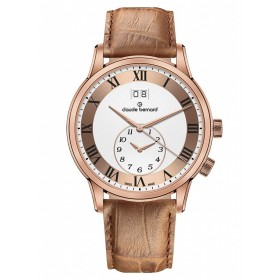 Мъжки часовник Claude Bernard Classic 2ND Time zone - 62007 37R ARR