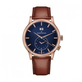 Мъжки часовник Claude Bernard Classic 2ND Time zone - 62007 37R BUIR