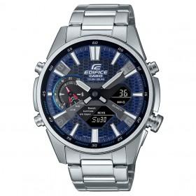 Мъжки часовник Casio Edifice Bluetooth Slim Tough Solar - ECB-S100D-2AEF