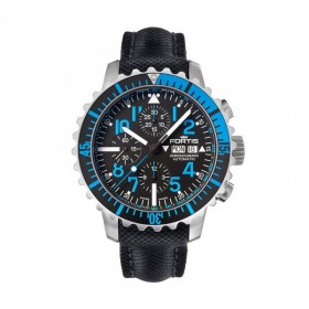 Мъжки часовник FORTIS Marinemaster Blue Chronograph - 671.15.45 LP